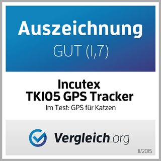 Incutex TK105 mini GPS Tracker wasserdicht Version 2019